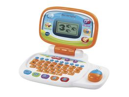 VTech Ready Set School Lerncomputer Mein Lernlaptop orange