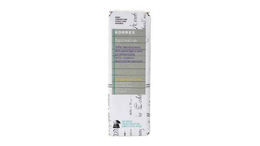 KORRES 48h Anti Perspirant Deodorant bei starker Perspiration