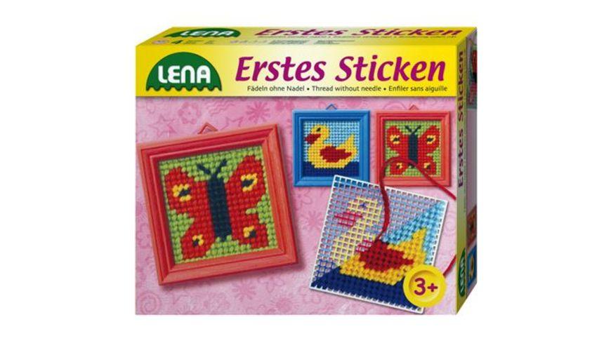 Lena 42010 Erstes Sticken 2 fach sortiert