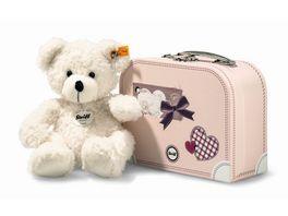 Steiff Lotte Teddybaer im Koffer weiss 28cm