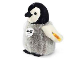 Steiff Flaps Pinguin schwarz weiss grau 16cm