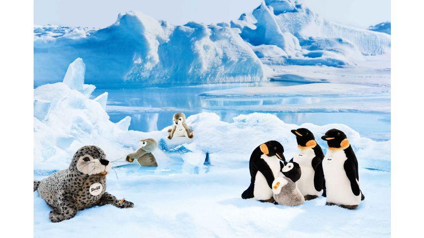 Steiff Steiffs Minis Steiffs kleine Freunde Flaps Pinguin schwarz weiss grau 16cm