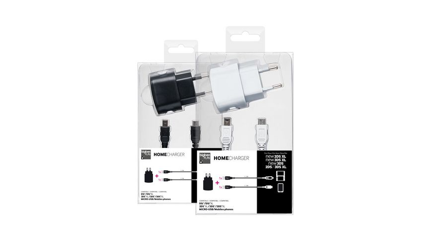 AC Adapter black white