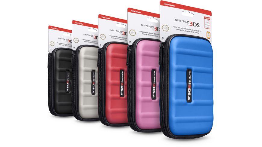 Nintendo Tasche 3DSXL505 farblich sortiert