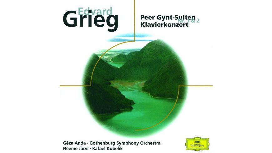 Peer Gynt Suiten 1 2 Klavierkonzert A moll