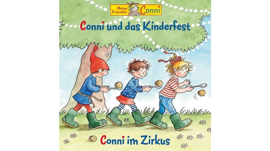 42 Conni Und Das Kinderfest Conni Im Zirkus