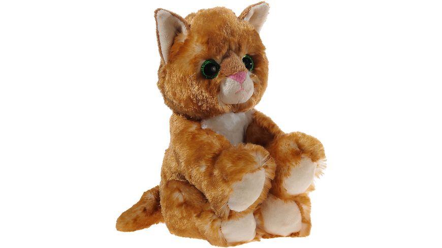 Heunec Softissimo Glitter Kitty Katzen Baby gold 20 cm