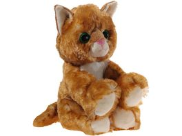 Heunec Friends4ever Glitter Kitty Katzen Baby gold 20cm