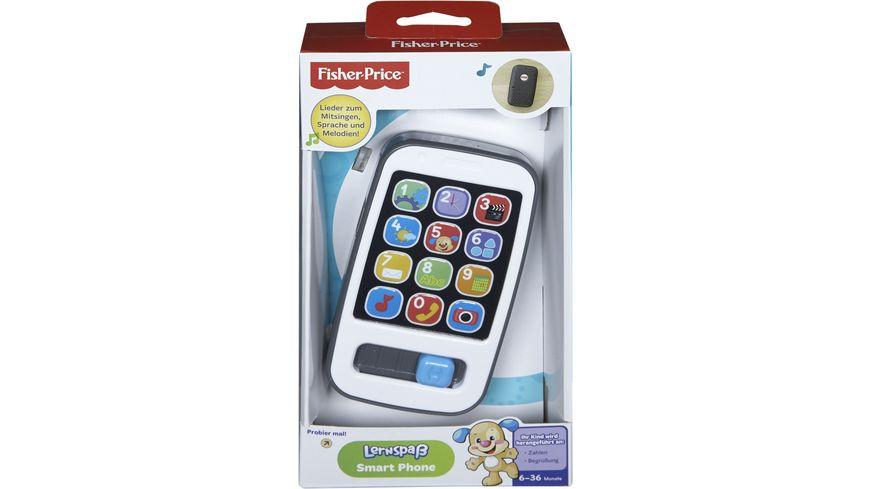 Fisher-Price Lernspaß Smart Phone, Kinder Smartphone, Spielzeughandy, Lernspielzeug