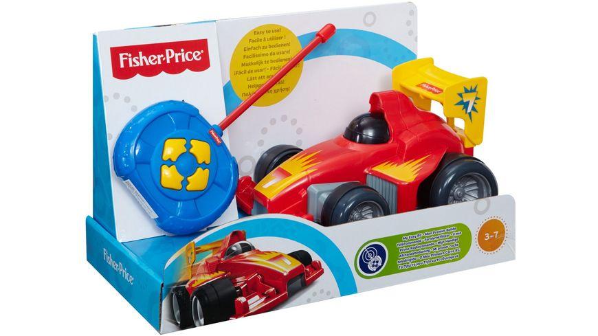Fisher Price Fernlenkflitzer R C Fahrzeug rot