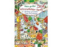 Buch Arena Kiddinatur Mein grosser Wimmelbilder Spass 1001 Dinge zum Suchen Finden und Entdecken