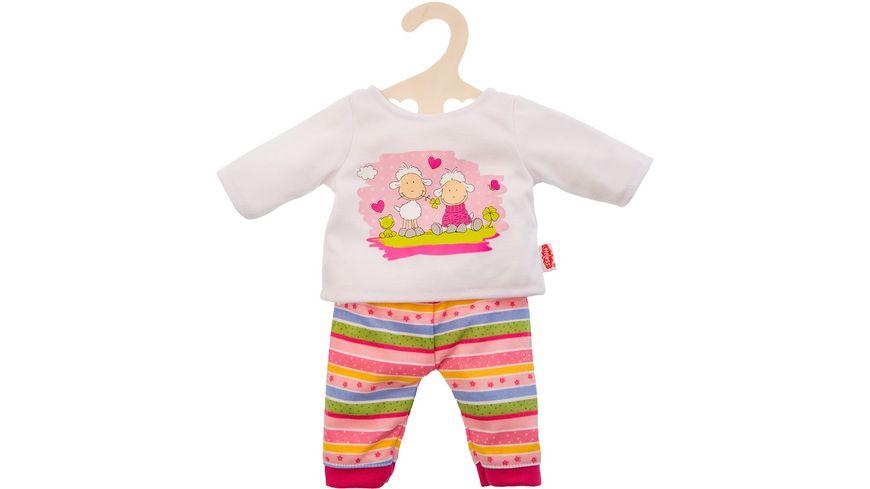 Heless Pyjama Gluecksschaefchen Gr 35 45 cm