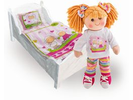 Heless Puppenbettdecke mit Kisssen Gr 46x36 cm