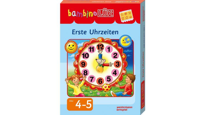 bambinoLUeK Set Erste Uhrzeiten ab 4