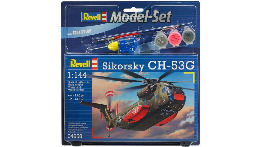 Revell 64858 Model Set CH 53G Heavy Transport