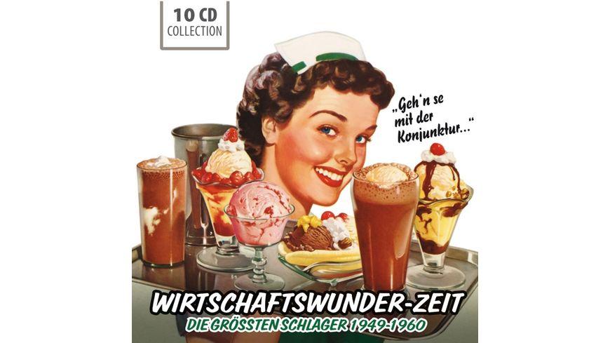 Wirtschaftswunder Zeit groesste Schlager 1949 60