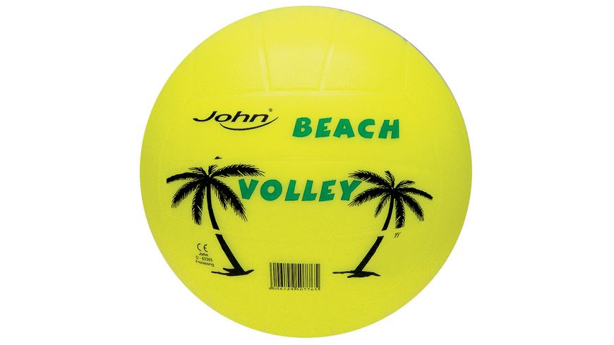 John Die Welt der Baelle Wave Volleyball Neon