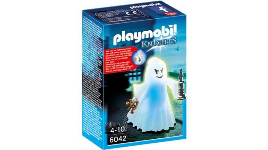 PLAYMOBIL 6042 Knights Gespenst mit Farbwechsel LED