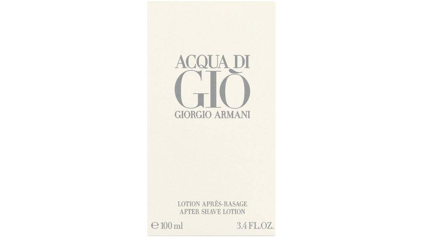 GIORGIO ARMANI Acqua di Gio After Shave