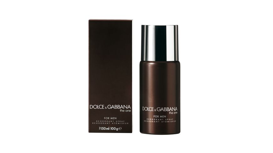 DOLCE GABBANA THE ONE FOR MEN Deodorant Spray