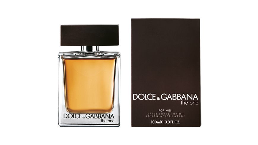 DOLCE GABBANA THE ONE FOR MEN After Shave Lotion