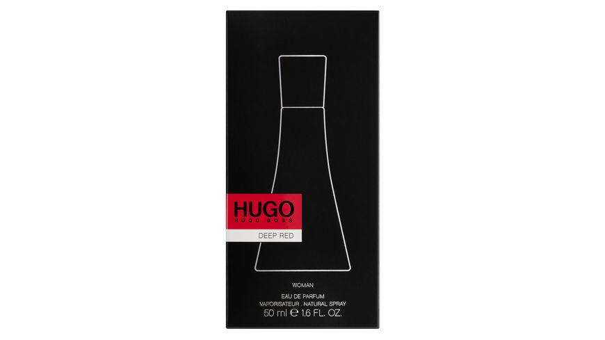HUGO Deep Red Eau de Parfum Natural Spray