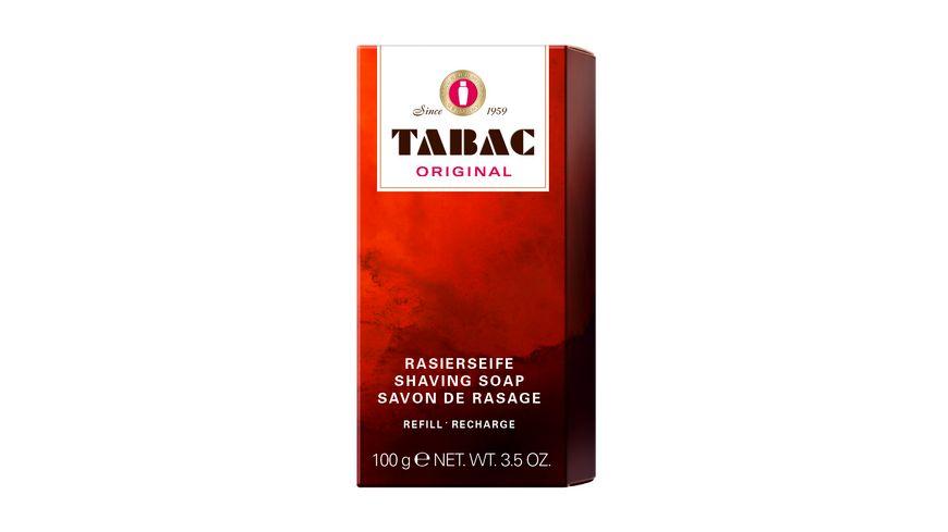 TABAC Original Rasierseife Refill fuer Huelse 100 g