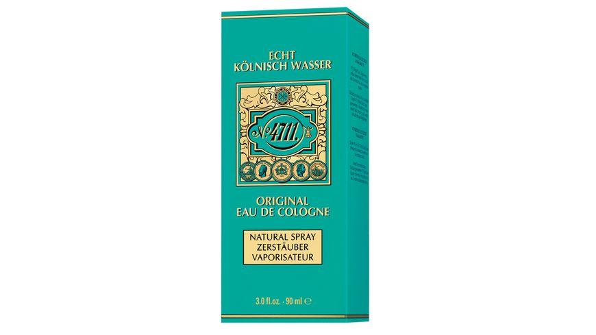 4711 Echt Koelnisch Wasser Eau de Cologne Natural Spray