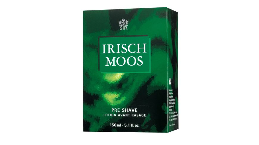 SIR IRISCH MOOS Pre Shave Lotion