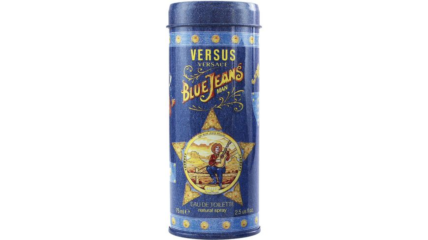 VERSACE Blue Jeans for Him Eau de Toilette