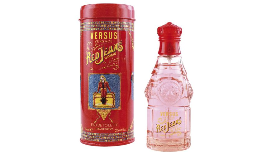 VERSACE Red Jeans for Her Eau de Toilette