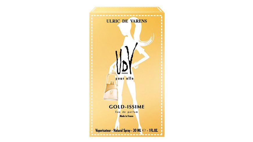 UDV GOLD ISSIME Eau de Parfum