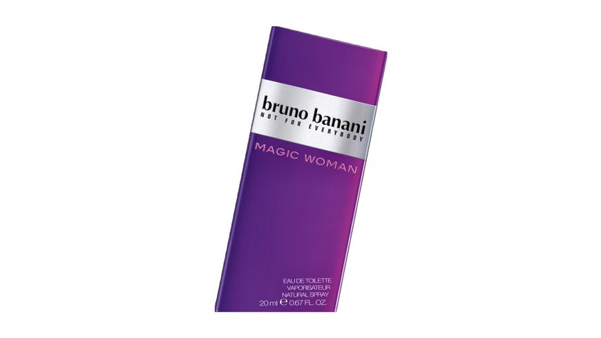 bruno banani Magic Woman Eau de Toilette Natural Spray