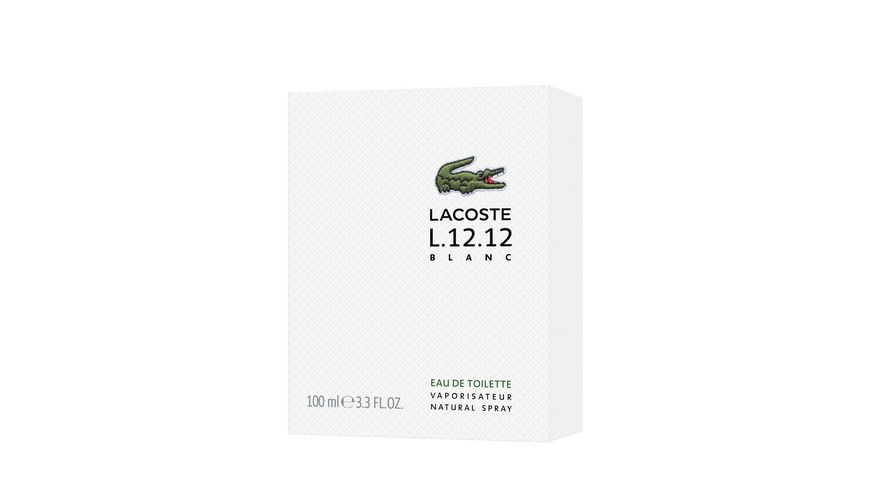Eau de LACOSTE L 12 12 Blanc Eau de Toilette Natural Spray