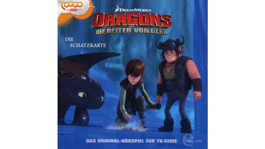 4 Original Hoerspiel z TV Serie Die Schatzkarte