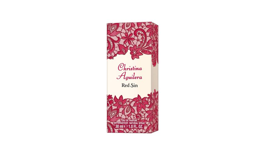 Christina Aguilera Red Sin Eau de Parfum Natural Spray