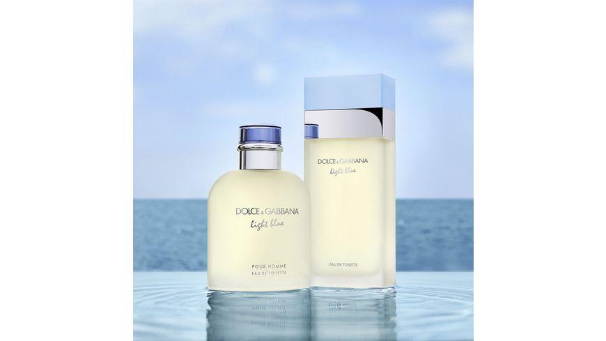 DOLCE GABBANA Light Blue Pour Homme Eau de Toilette