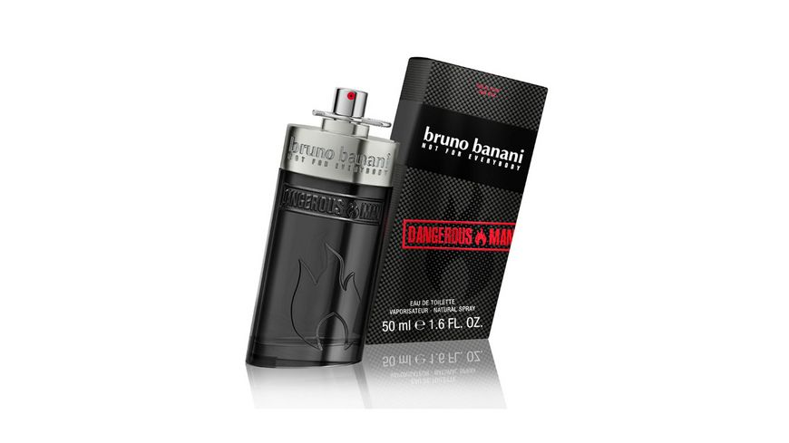 bruno banani Dangerous Man Eau de Toilette Natural Spray