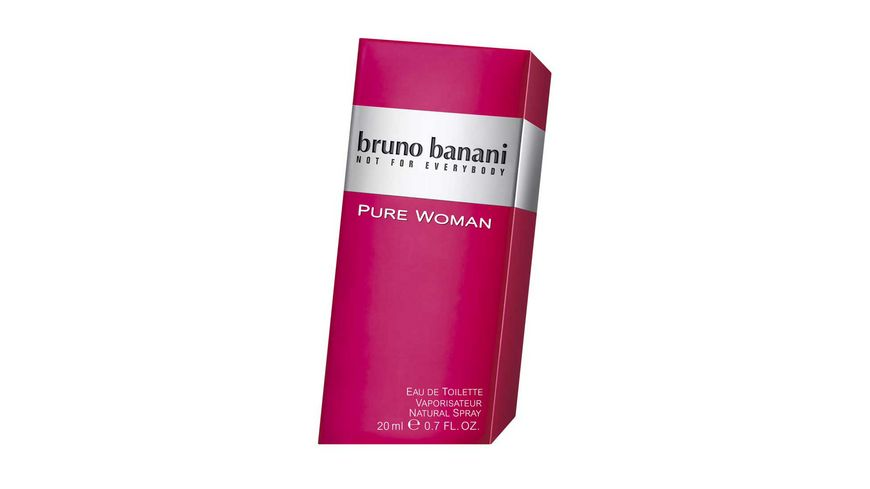 bruno banani Pure Woman Eau de Toilette Natural Spray