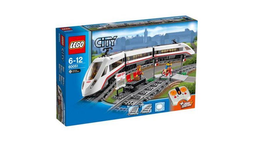 LEGO City 60051 Hochgeschwindigkeitszug