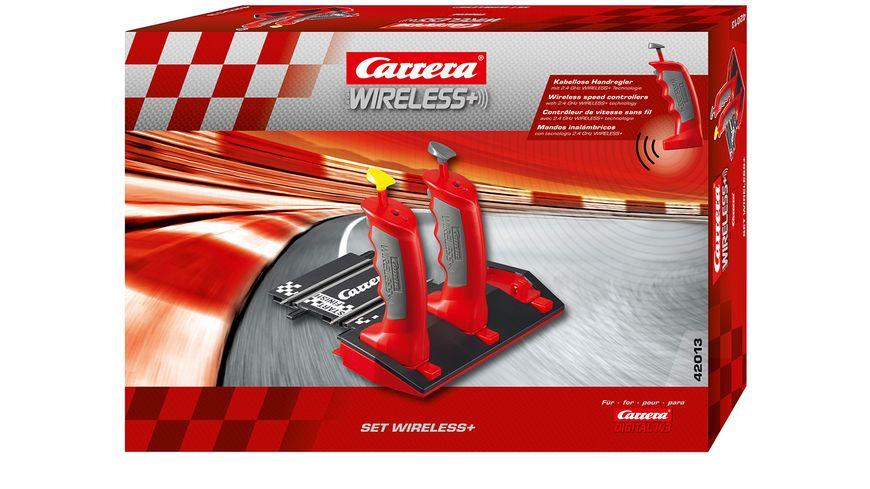 Carrera 2 4 GHz Wireless Anschlussschiene inkl 2 Handreglern