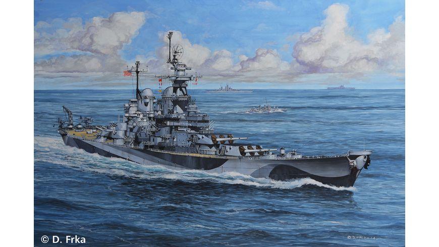 Revell 05128 Battleship U S S Missouri WWII