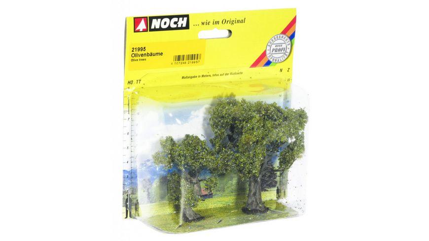 NOCH 21995 H0 - Olivenbäume 2 Stück 6 und 9 cm