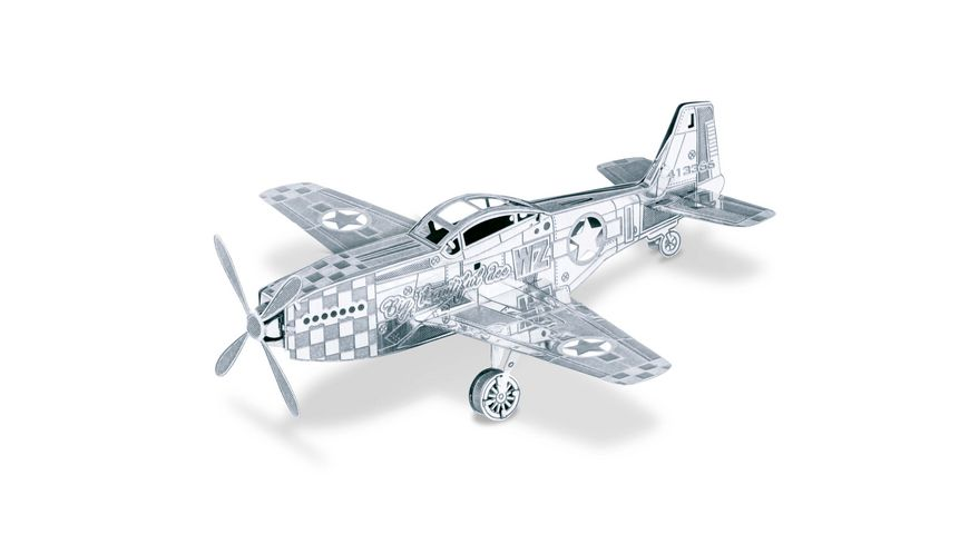 Metal Earth 502498 Flugzeuge Mustang P51