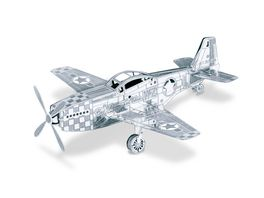 Metalearth Flugzeuge Mustang P51
