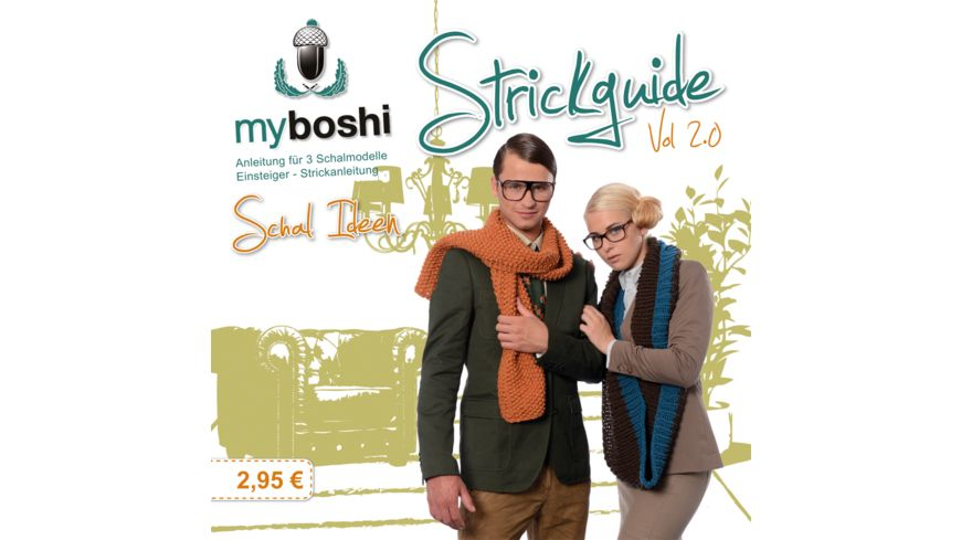 myboshi Vol 2.0 Strickguide