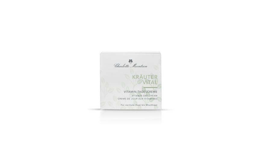 Charlotte Meentzen KRAeUTERVITAL Vitamin Tagescreme