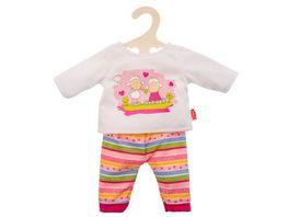Heless Pyjama Gluecksschaefchen klein Gr 28 35 cm