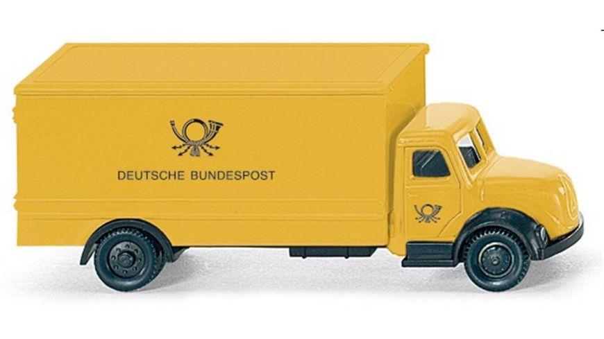 WIKING 094902 Koffer Lkw Magirus Deutsche Bundespost