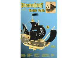 Weico Piratenschiff Holzbausatz